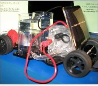 zy-zrl-c001氢燃料电池模型车