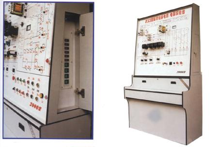 第一代机床,电路,电器仿真综合模拟实验台(木柜,单面)