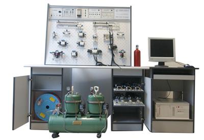 基本配置为:气动实验元件1套;气动实验plc电气控制图片